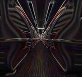 Viagem em tempo e em espaço Imagens de Stock