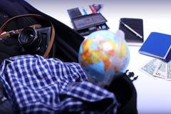 Viagem em torno do mundo Imagens de Stock
