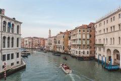 Viagem em Veneza em 2018 fotografia de stock