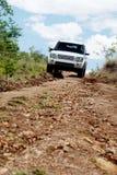 Viagem fora de estrada na Zâmbia, África fotografia de stock royalty free