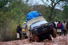 Viagem na estrada intransitável Imagem de Stock Royalty Free