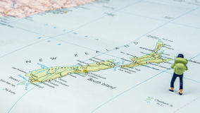 Viagem a Nova Zelândia Fotografia de Stock Royalty Free