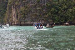 Viagem perto da ilha Fotografia de Stock