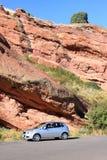 Viagem por estrada às montanhas Imagens de Stock