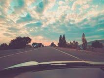 Viagem por estrada imagens de stock