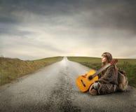 Viagem por estrada Fotografia de Stock