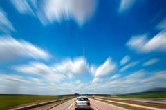 Viagem por estrada. Imagem de Stock