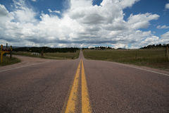 Viagem por estrada Colorado Fotografia de Stock