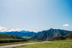 Viagem por estrada da montanha Fotos de Stock