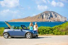 Viagem por estrada de Havaí Fotografia de Stock