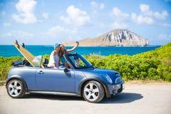 Viagem por estrada de Havaí Foto de Stock