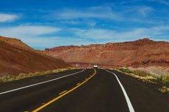 Viagem por estrada a Grand Canyon, o Arizona fotos de stock