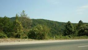 Viagem por estrada na estrada da montanha filme