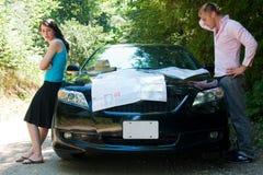 Viagem por estrada - totalmente perdida imagem de stock royalty free