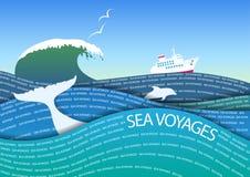 Viagens do mar Fotografia de Stock
