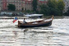 Viaggi della barca Fotografia Stock