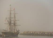 Viaggi della scoperta - navi alte Fotografia Stock