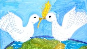 Viaggi per i gruppi di disegni dei bambini della città Harkìv Immagini Stock
