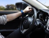 Viaggi sulla strada Guidando sulla strada, viaggio, giro fugga la routine immagine stock