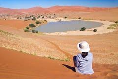 Viaggiando in Africa Fotografia Stock Libera da Diritti