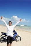 Viaggiando al paese tropicale Fotografie Stock Libere da Diritti