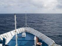 Viaggiando in barca Fotografia Stock