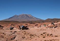 Viaggiando in Bolivia Fotografia Stock Libera da Diritti