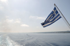 Viaggiando con il traghetto Immagini Stock Libere da Diritti