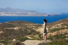 Viaggiando in Grecia Fotografie Stock Libere da Diritti