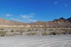 Viaggiando il Death Valley, U.S.A. Immagini Stock Libere da Diritti