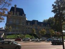 Viaggiando intorno alla città di Parigi fotografie stock libere da diritti