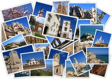 Viaggiando intorno alla Spagna immagini stock