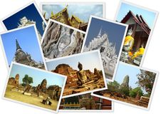 Viaggiando intorno alla Tailandia Fotografia Stock