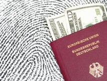 Viaggiando negli S.U.A. Fotografia Stock Libera da Diritti