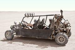 Viaggiando nel deserto Immagini Stock Libere da Diritti
