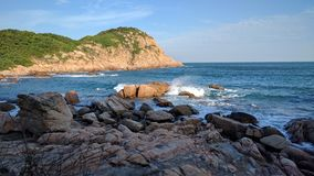 Viaggiando in Shek O è parte del sud di Hong Kong fotografie stock