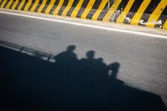 Viaggiando sul tetto del bus Fotografia Stock