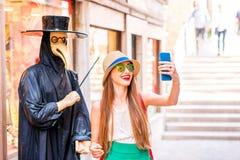 Viaggiando a Venezia Immagine Stock Libera da Diritti