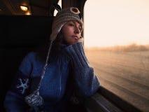 Viaggiando verso la luce fotografie stock libere da diritti
