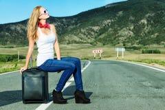 Viaggiatore Fotografia Stock