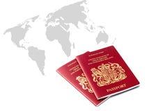 Viaggiatore britannico immagini stock