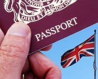 Viaggiatore britannico fotografia stock libera da diritti