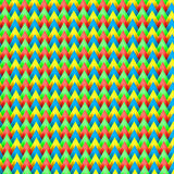 Viaggiatore con zaino e sacco a pelo Colourful del modello Fotografie Stock
