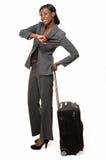 Viaggiatore di affari Immagini Stock Libere da Diritti