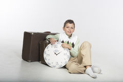 Viaggiatore di tempo Fotografie Stock Libere da Diritti