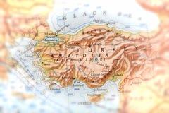 Viaggiatore messo a fuoco sull'Anatolia Fotografia Stock