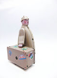 Viaggiatore Tin Toy Immagine Stock