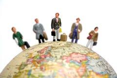 Viaggiatori di affari Immagini Stock Libere da Diritti