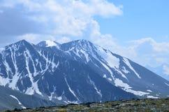 Viaggio ad Altay Mountains Immagini Stock Libere da Diritti