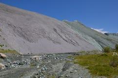Viaggio ad Altay Mountains Fotografie Stock
